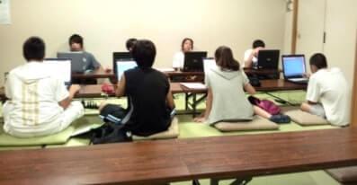パソコンでの授業