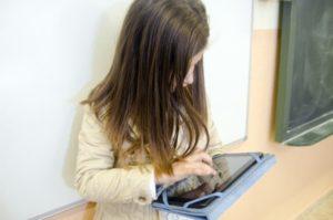 学校内で行われるアダプティブラーニング